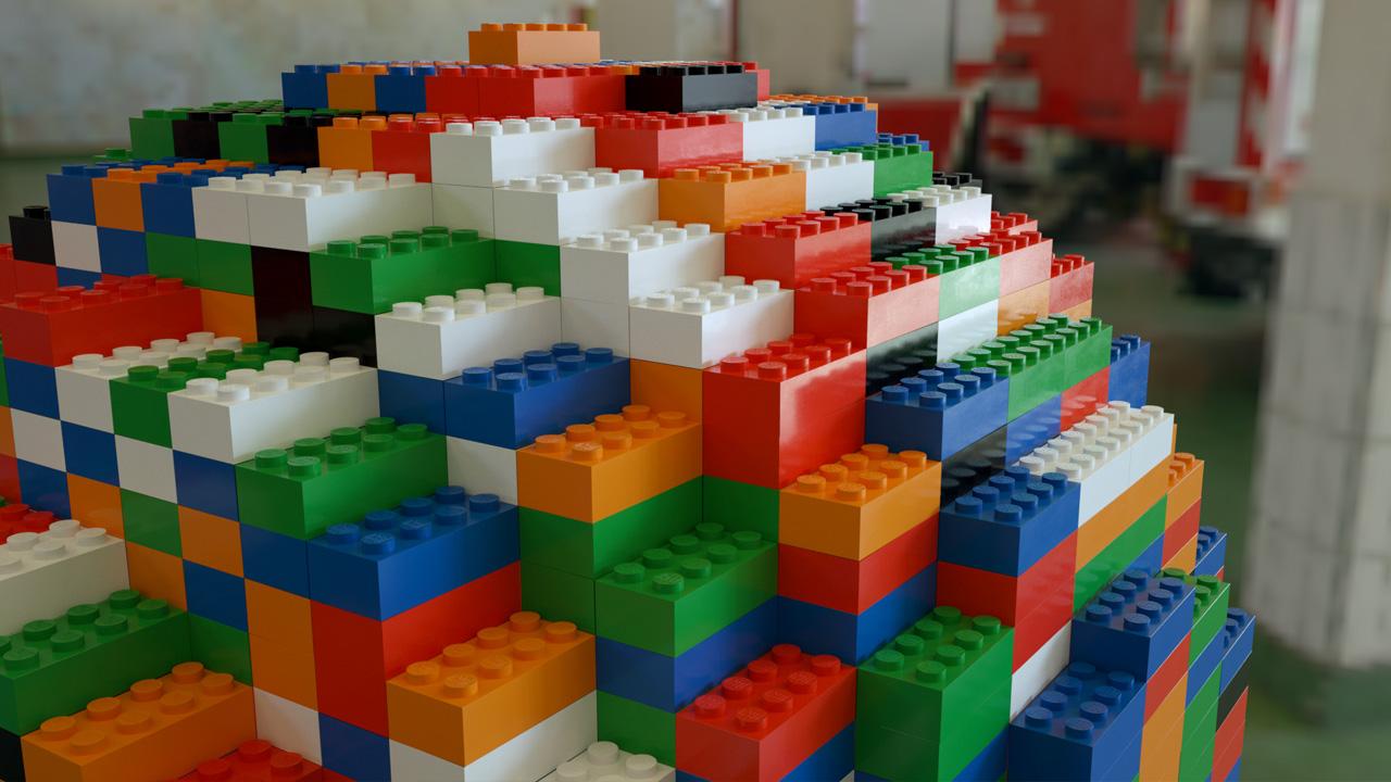 LEGO Kugel (Octane-Renderer)