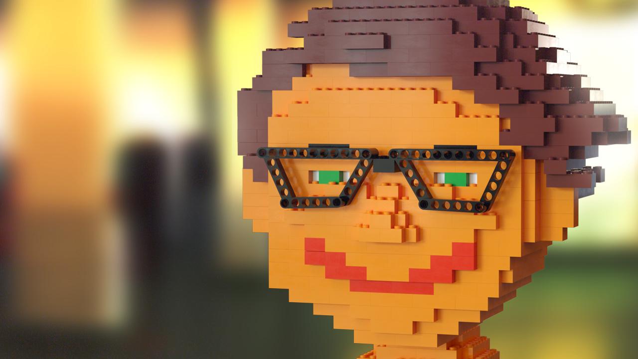 LEGO Simon (Octane-Renderer)