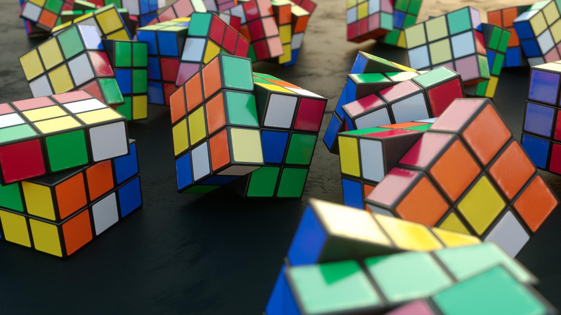 Rubic's Cube mit Cinema 4D und Octane