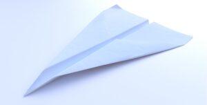 3D modelliertes Flugzeug für«Durchschaut»
