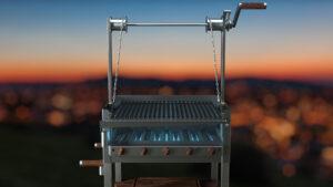 azado Grill Feuer Arten GAS